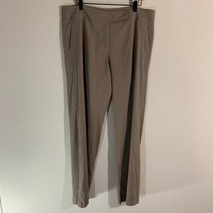Eileen Fisher Linen Slacks Trouser Pants 16